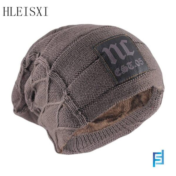 Winter Adult Men Warm Beanies Skullies Fashion Letter Knitted Women Hat Outdoor Colorful Casual Bone Brand Soft Wool Gorras